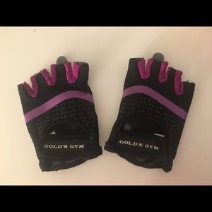 NEW Gold's Gym Women's Weightlifting Gloves S/M